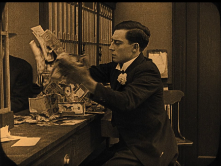 Image result for buster keaton the haunted house
